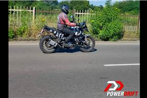 KTM 250 Adventure spotted testing for the first time