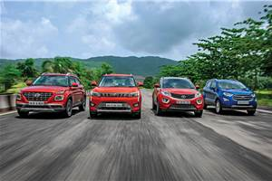 Venue vs XUV300 vs Nexon vs EcoSport