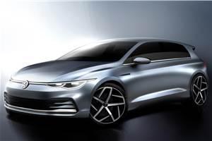Next-gen Volkswagen Golf design sketches revealed
