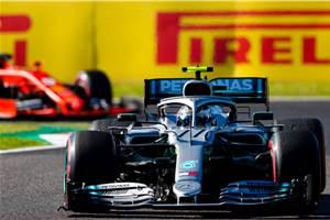 Mercedes wraps up constructors' title as Bottas wins Japanese GP