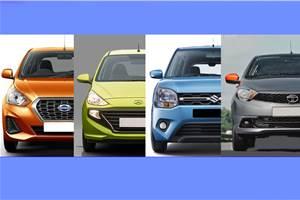 Datsun Go CVT vs rivals: Specifications comparison