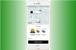 Uber plans to offer motorcycle taxis in Delhi