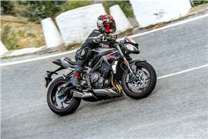 2020 Triumph Street Triple RS review, test ride
