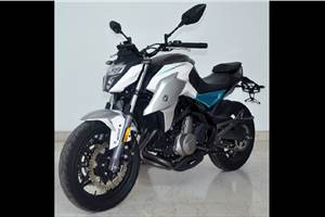 2020 CFMoto 650NK and 400NK spied