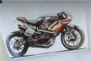 New Harley-Davidson faired bike in the works
