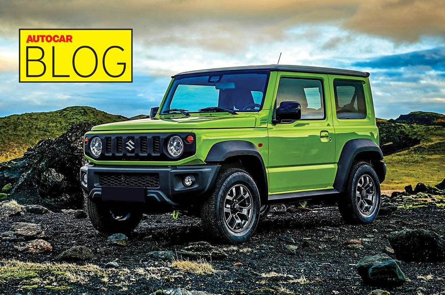 The Jimny is quite a looker in Kinetic Yellow.