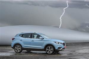 MG ZS may also get petrol, hybrid engine options in India