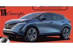 All-electric Nissan Ariya Concept to debut at Tokyo