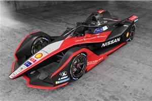 Nissan reveals 2019/20 Formula E racer