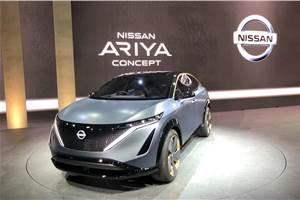Nissan's Ariya previews all-electric SUV