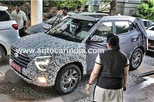 India-spec 2020 Hyundai Creta takes shape