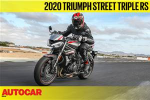 2020 Triumph Street Triple RS video review