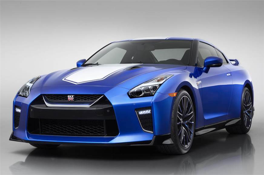 Nissan GT-R used for representation.