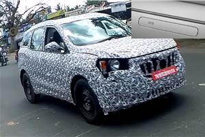 Next-gen Mahindra XUV500 to lose 'cheetah claw' door handles