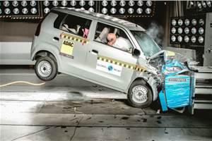 Maruti Suzuki Wagon R scores two stars in Global NCAP crash test