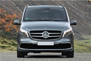 Mercedes V-class Elite launch on November 7, 2019