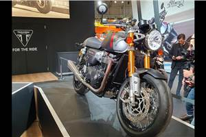 Triumph Thruxton RS showcased at EICMA 2019