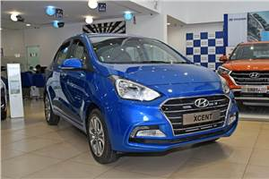 Hyundai Xcent gets discounts worth up to Rs 1.25 lakh