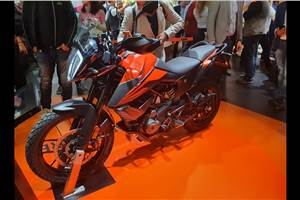 KTM 390 Adventure revealed at EICMA 2019