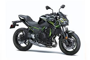 Updated Kawasaki Z650 showcased at EICMA 2019