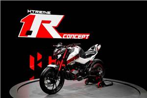Hero Xtreme 1.R Concept showcased at EICMA 2019