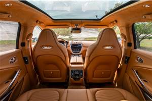 Aston Martin DBX interior officially revealed