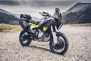 India-bound Husqvarna 401 series showcased at EICMA 2019 alongside 901 Norden concept