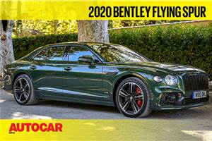 2020 Bentley Flying Spur video review