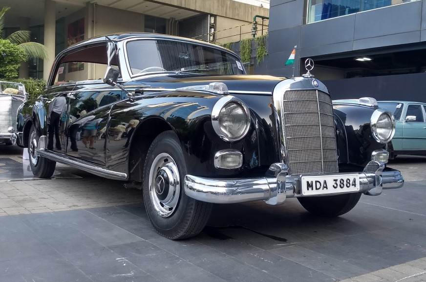The 300D Adenauer was the ride of kings in the 1960s.
