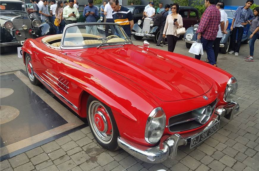 The 300SL Roadster will be one of many stars of the show.