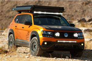 Rugged Volkswagen SUV concepts showcased