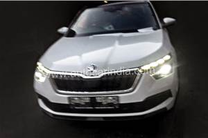 Skoda Kamiq SUV seen in India for the first time