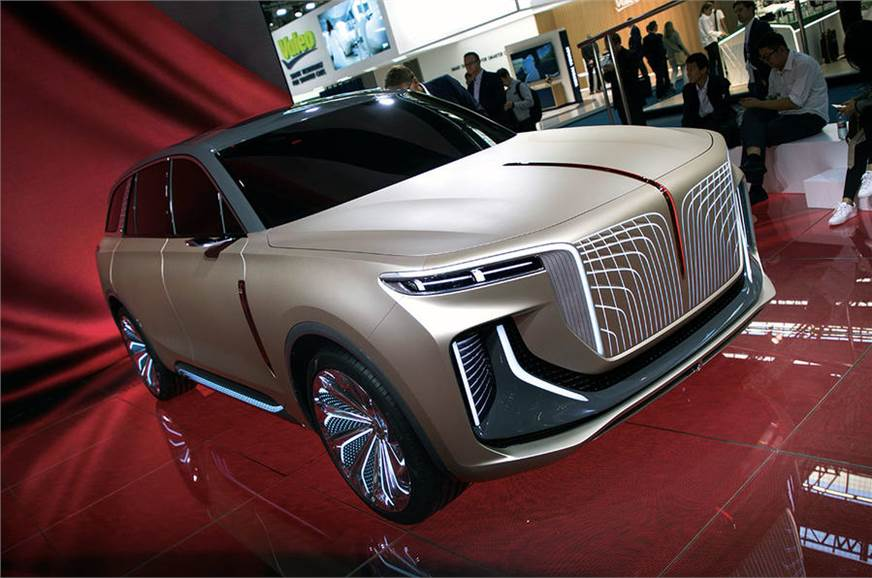 Hongqi showed its E115 electric SUV at Frankfurt last month
