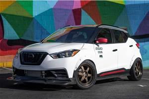 Nissan Kicks Street Sport showcased at SEMA Show 2019