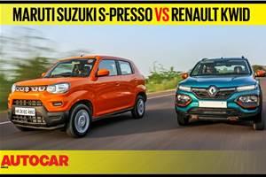 Maruti Suzuki S-Presso vs Renault Kwid comparison video