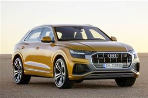 Audi Q8 SUV to be launched in India on January 15, 2020