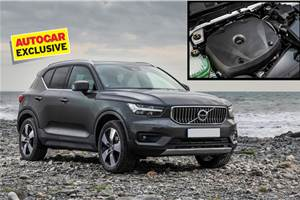 Volvo XC40 T4 petrol to be priced at Rs 39.9 lakh