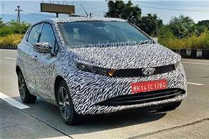 Tata Altroz spied in final stages of testing