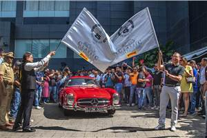 Mercedes-Benz Classic Car Rally 2019: the rolling museum