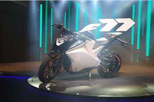 Ultraviolette F77 electric motorcycle unveiled