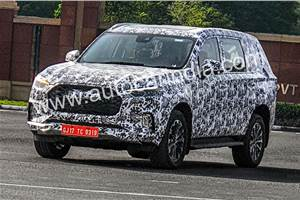 MG Maxus D90 seen testing in India