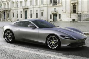 Ferrari unveils new Roma front-engined coupe