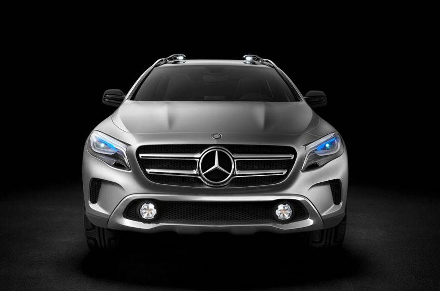 2013 Mercedes-Benz GLA concept (for representational purpose only)