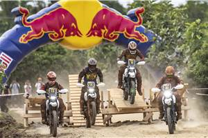 Yuva Kumar wins inaugural Red Bull Ace of Dirt race