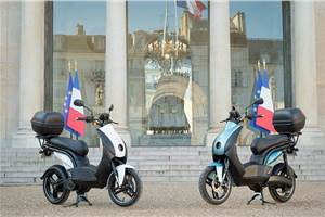 Made-in-India Peugeot e-Ludix joins Palais de l'Elysée fleet