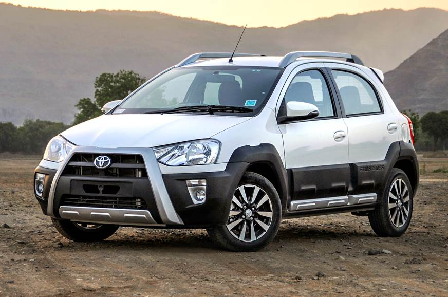 The rugged-looking Etios Cross was launched in India in M...