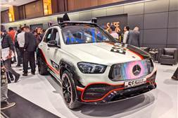 2019 Mercedes-Benz ESF safety vehicle showcased in India
