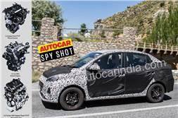 Hyundai Aura engine, gearbox options revealed