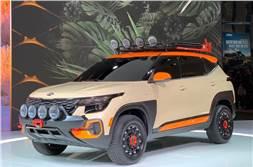 Kia Seltos AWD showcased at LA Auto show