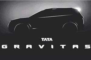 Tata Gravitas announced as name for production-spec H7X SUV